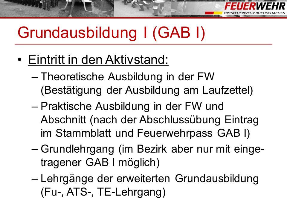 Grundausbildung I (GAB I)