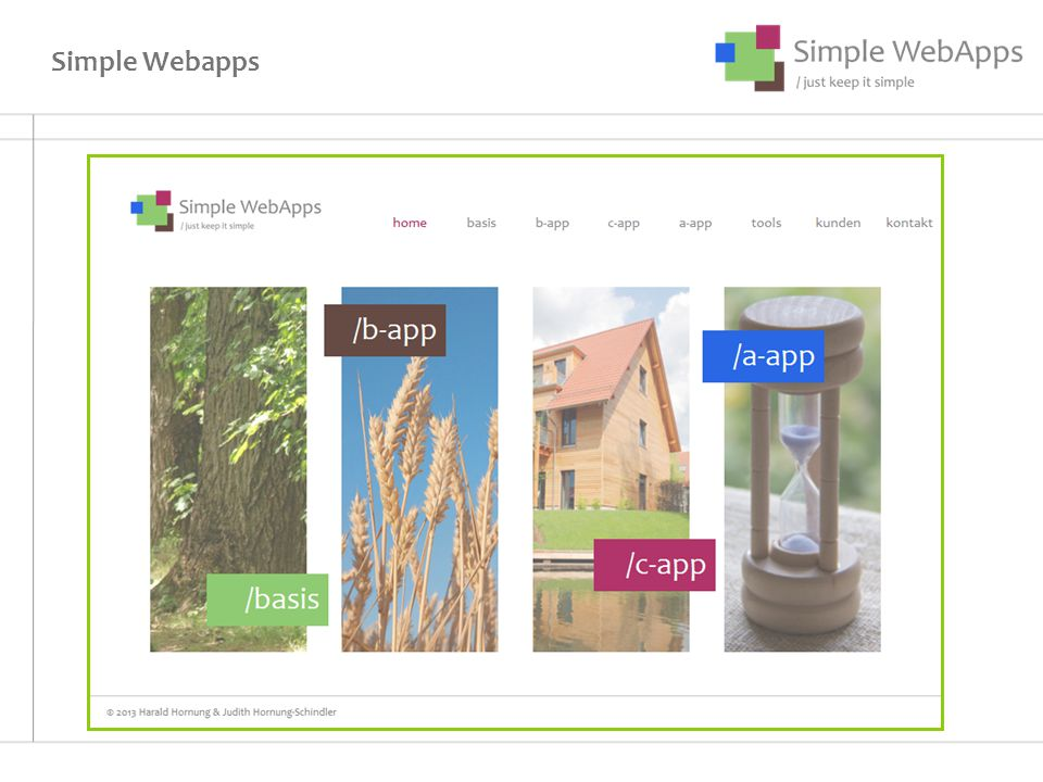 Simple Webapps