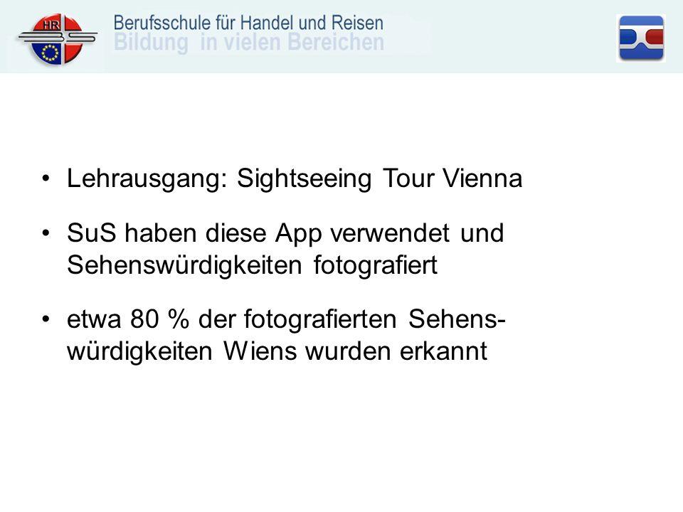 Lehrausgang: Sightseeing Tour Vienna