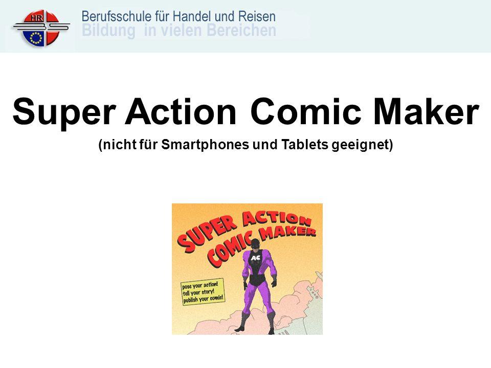 Super Action Comic Maker (nicht für Smartphones und Tablets geeignet)