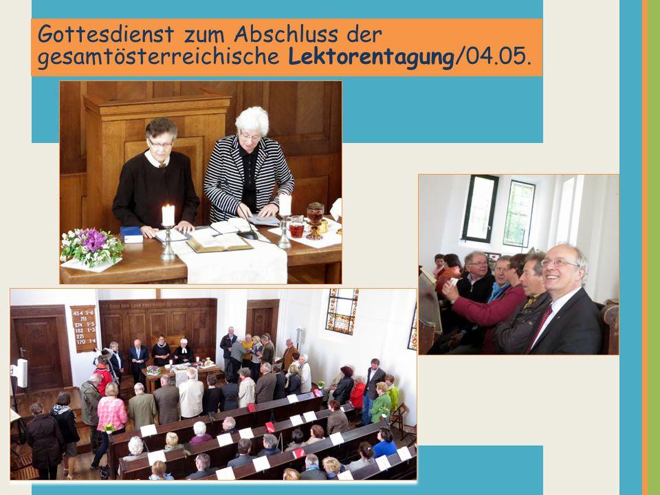 Gottesdienst zum Abschluss der gesamtösterreichische Lektorentagung/04