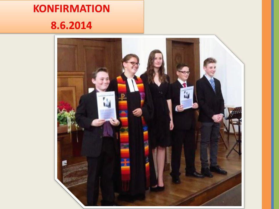 KONFIRMATION 8.6.2014