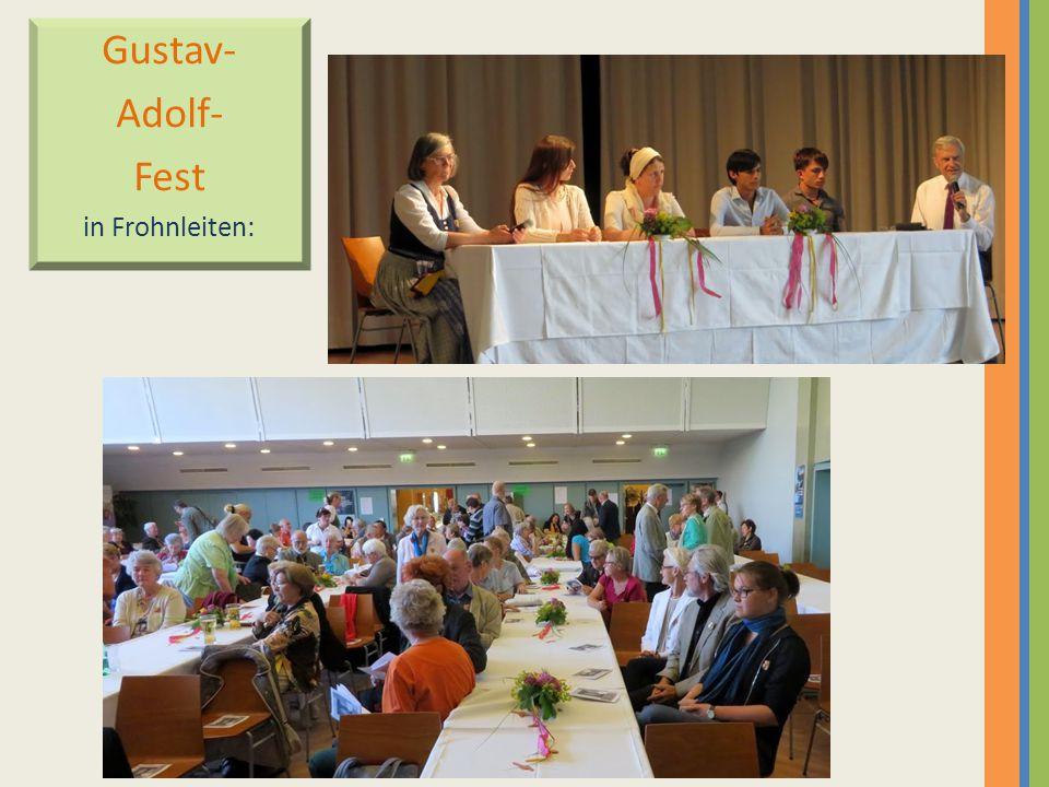 Gustav- Adolf- Fest in Frohnleiten: