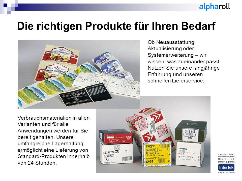 Die richtigen Produkte für Ihren Bedarf