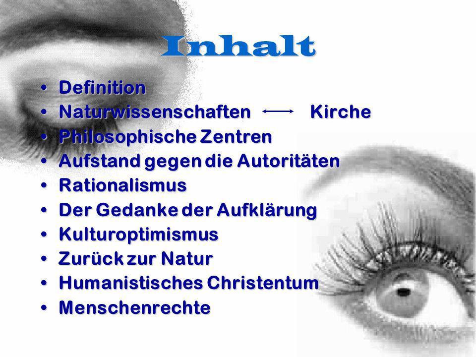Inhalt Definition Naturwissenschaften Kirche Philosophische Zentren