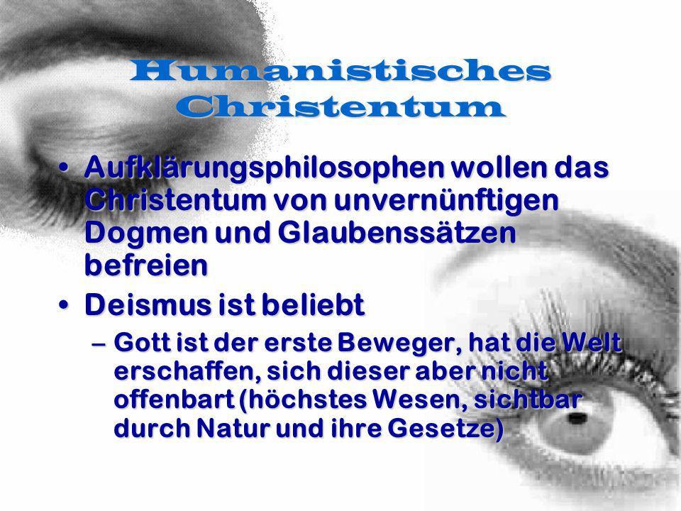 Humanistisches Christentum