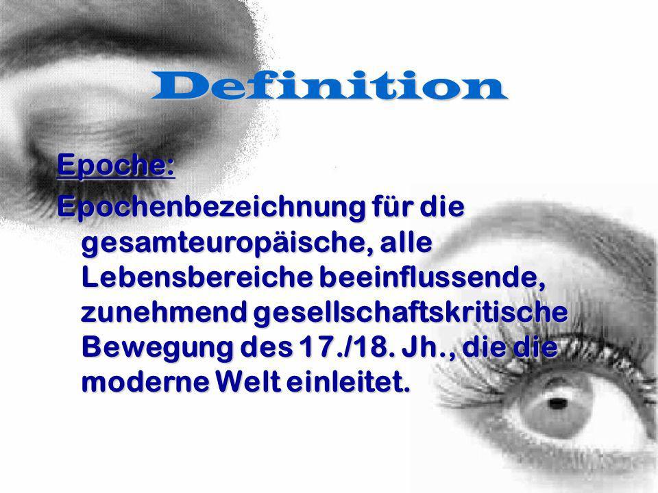 Definition Epoche: