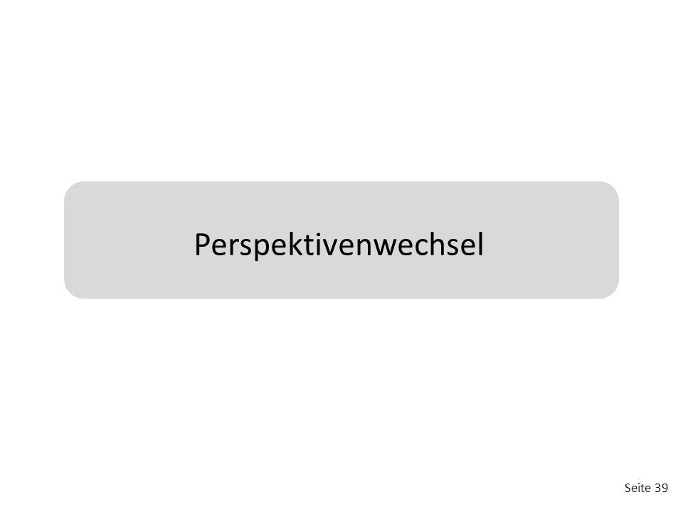 Perspektivenwechsel