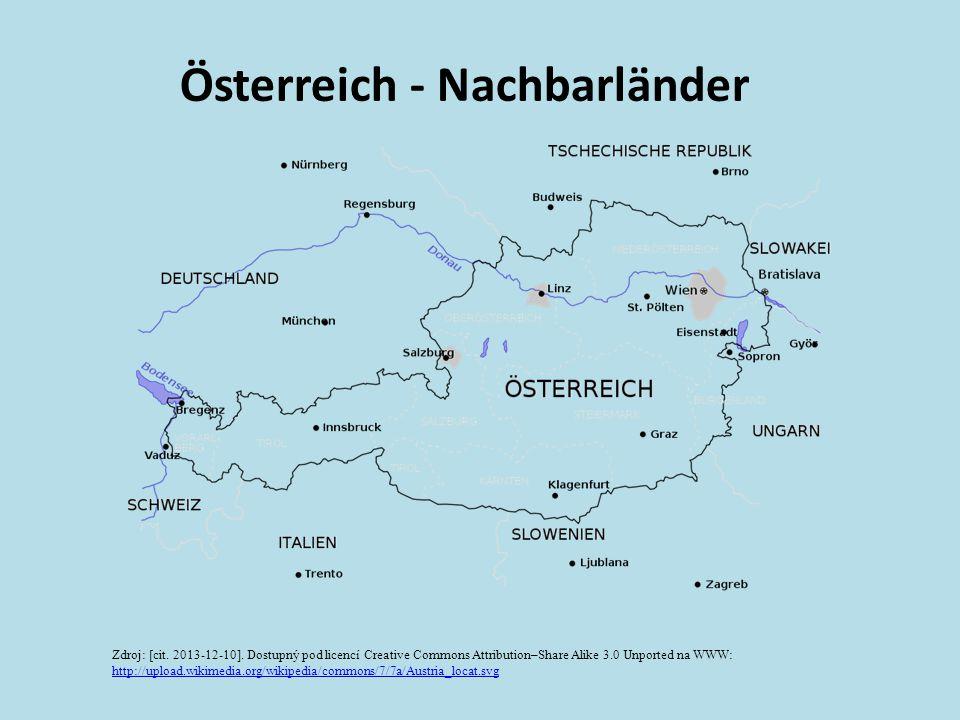 Österreich - Nachbarländer