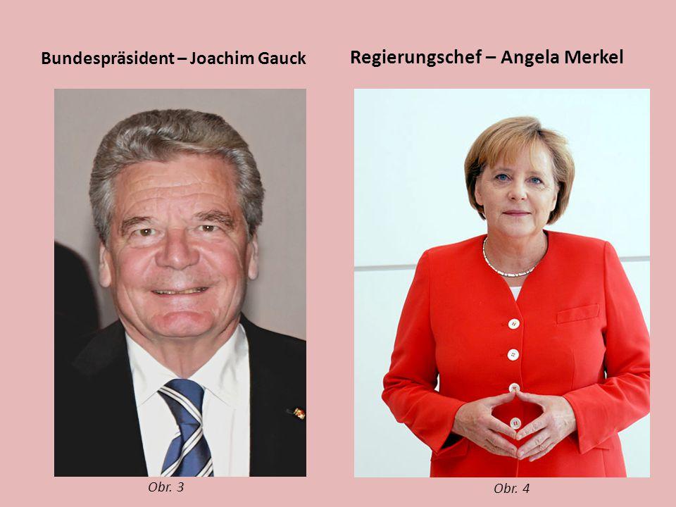 Regierungschef – Angela Merkel