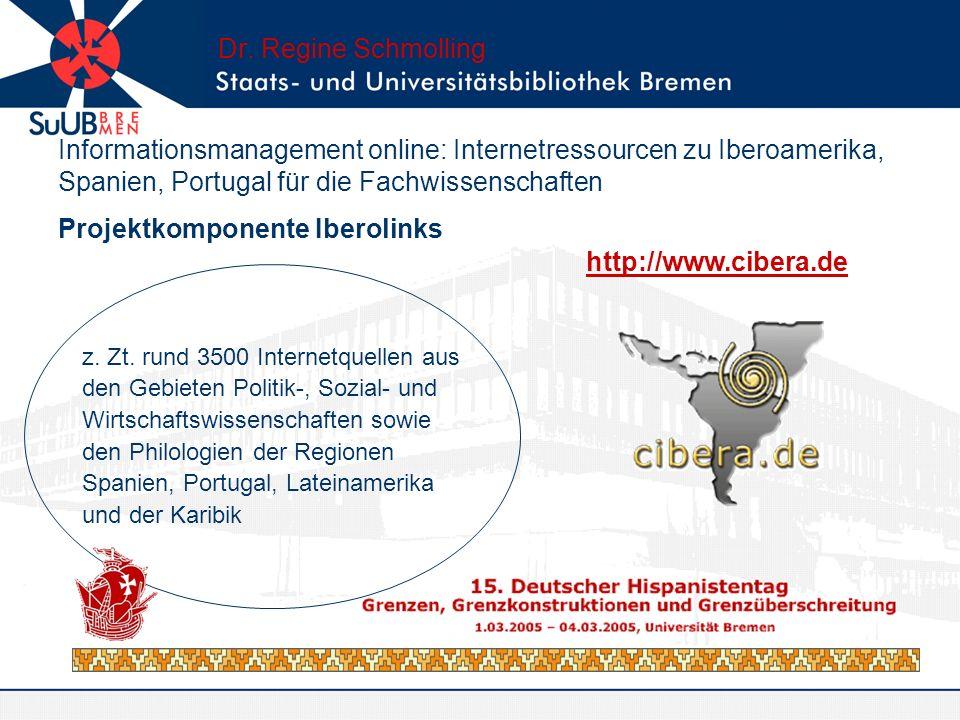Projektkomponente Iberolinks
