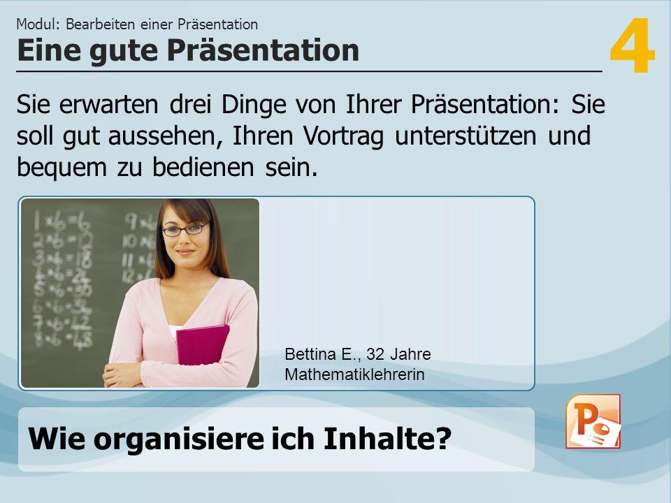Eine gute Präsentation