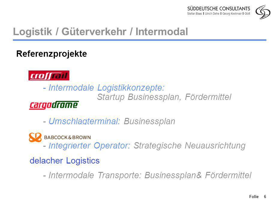 Logistik / Güterverkehr / Intermodal