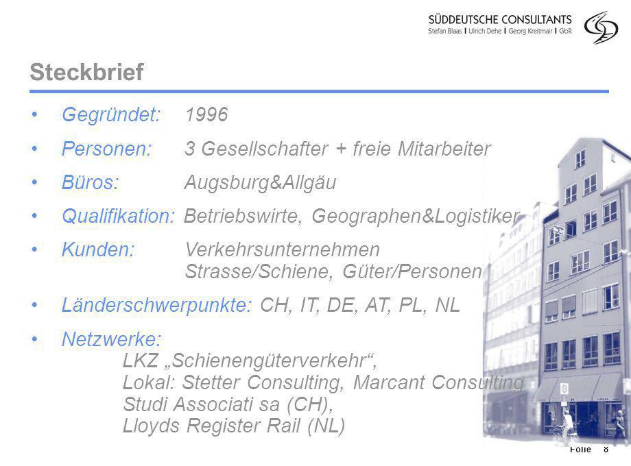 Steckbrief Gegründet: 1996