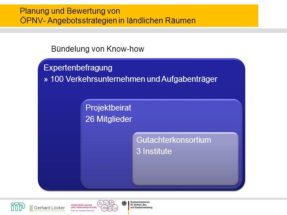 Bündelung von Know-how