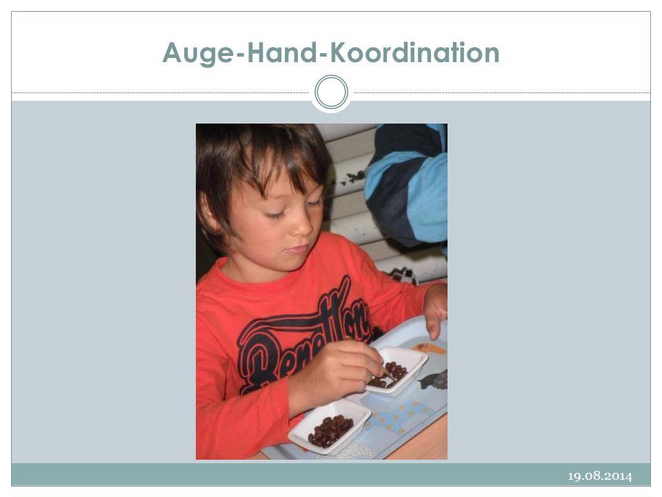 Auge-Hand-Koordination