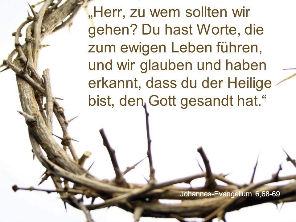 Johannes-Evangelium 6,68-69