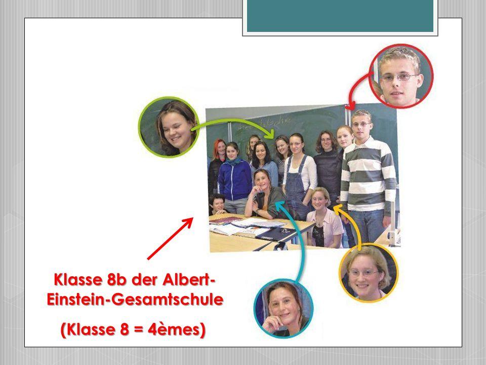 Klasse 8b der Albert-Einstein-Gesamtschule