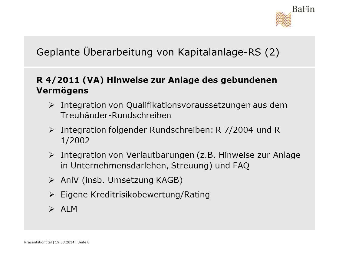 Geplante Überarbeitung von Kapitalanlage-RS (2)
