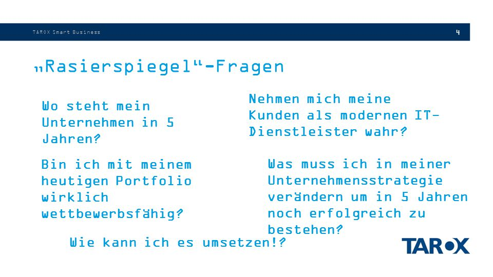 """""""Rasierspiegel -Fragen"""