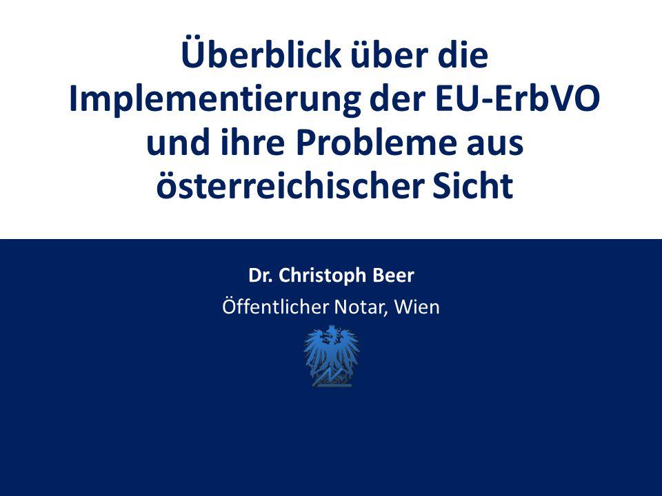 Dr. Christoph Beer Öffentlicher Notar, Wien