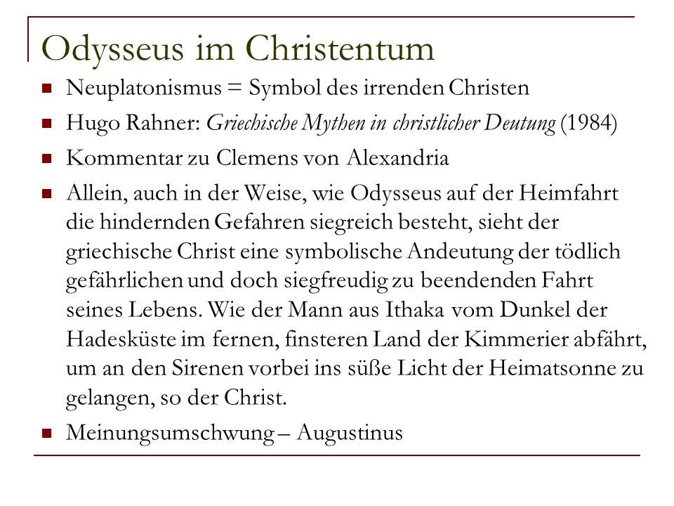 Odysseus im Christentum