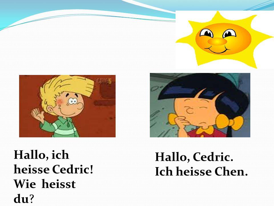 Hallo, ich heisse Cedric!