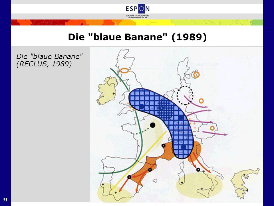 Die blaue Banane (1989) Die blaue Banane (RECLUS, 1989)
