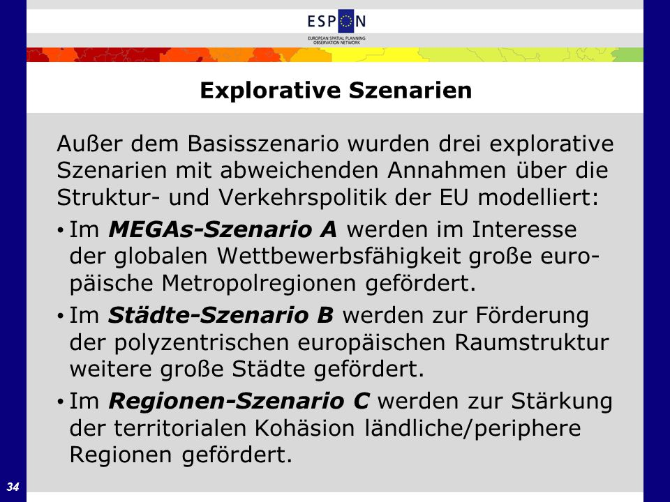 Explorative Szenarien