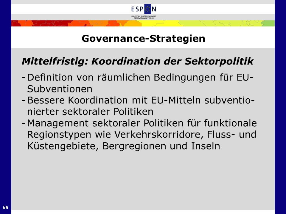 Governance-Strategien