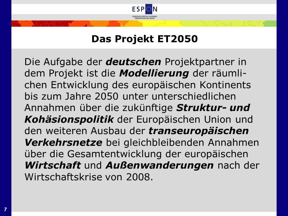 Das Projekt ET2050