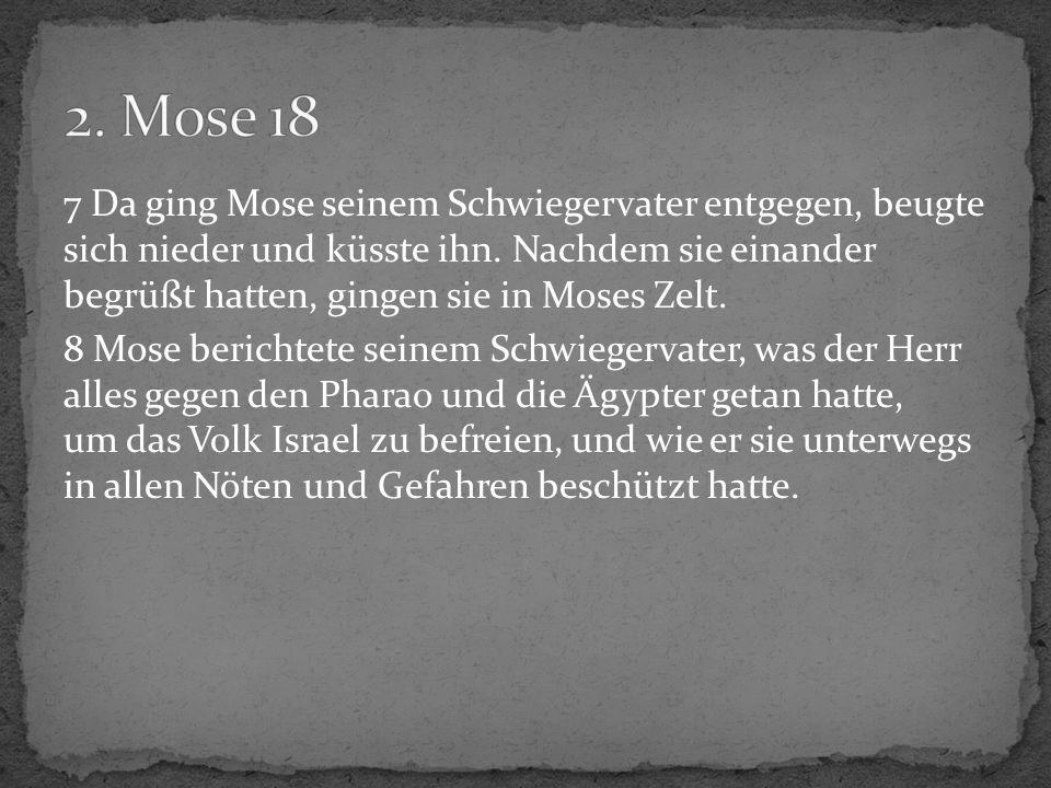 2. Mose 18
