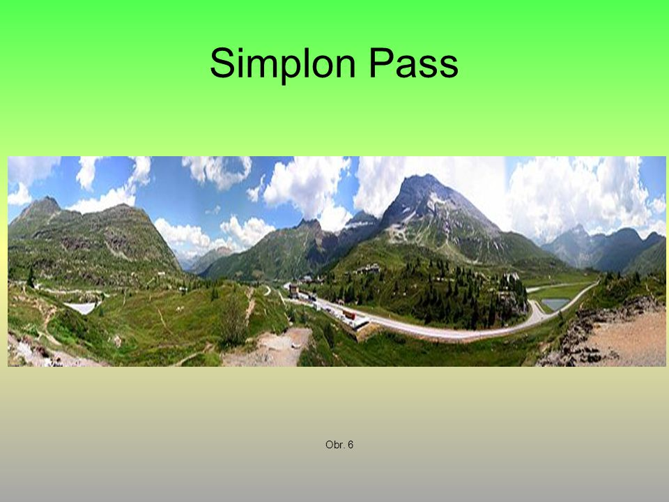 Simplon Pass Obr. 6