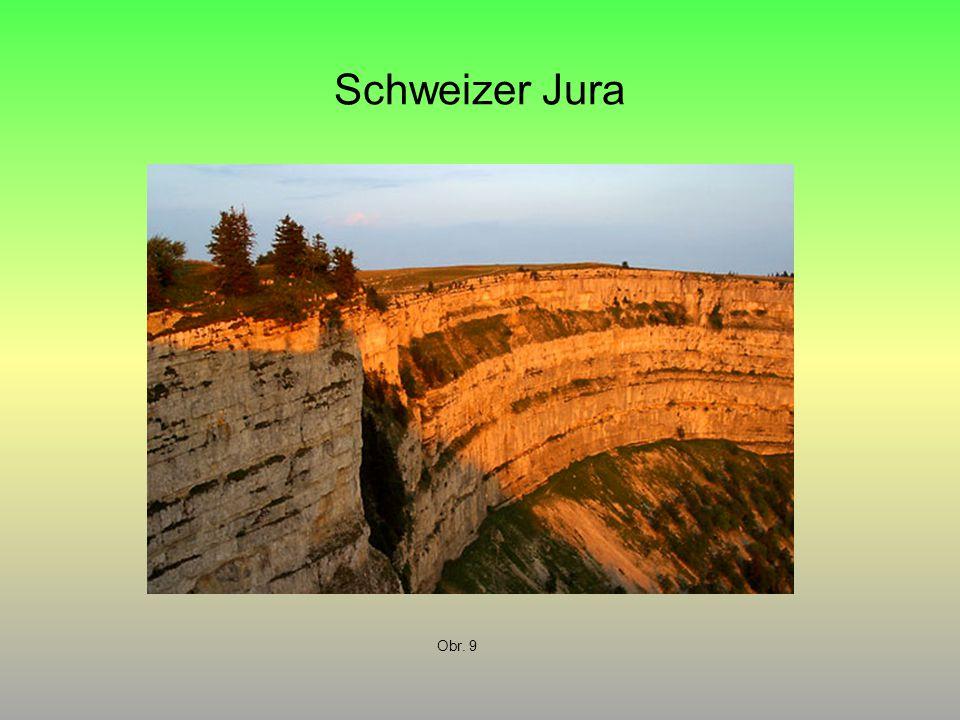 Schweizer Jura Obr. 9