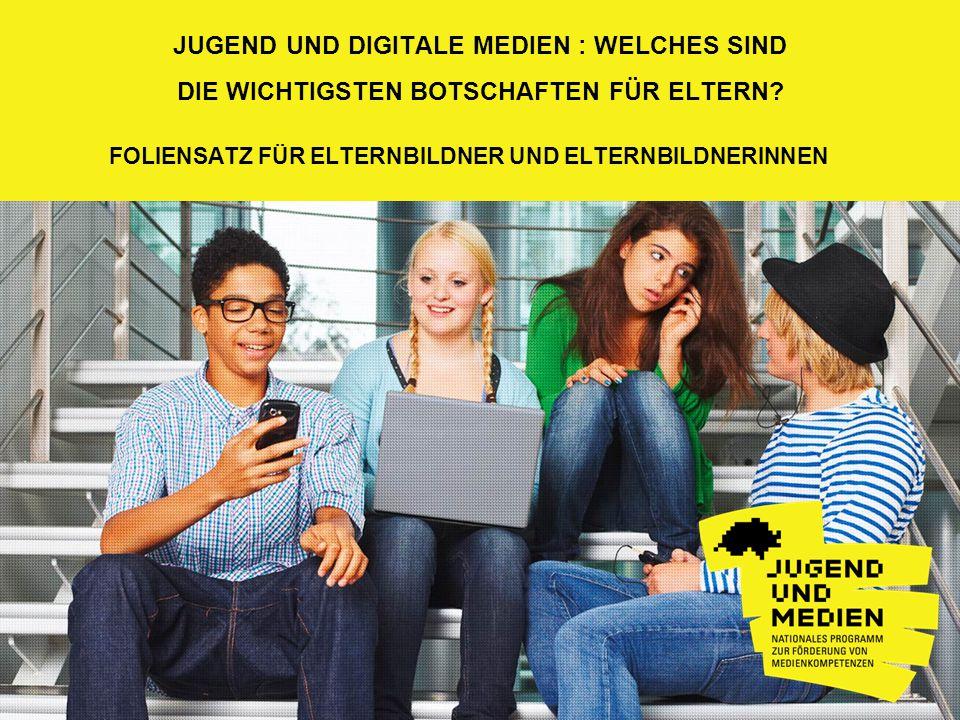 Jugend und digitale Medien : Welches sind
