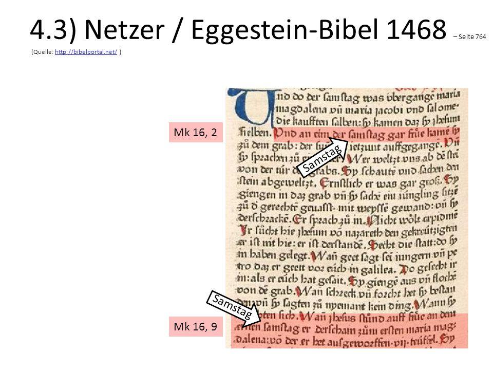 4.3) Netzer / Eggestein-Bibel 1468 – Seite 764 (Quelle: http://bibelportal.net/ )