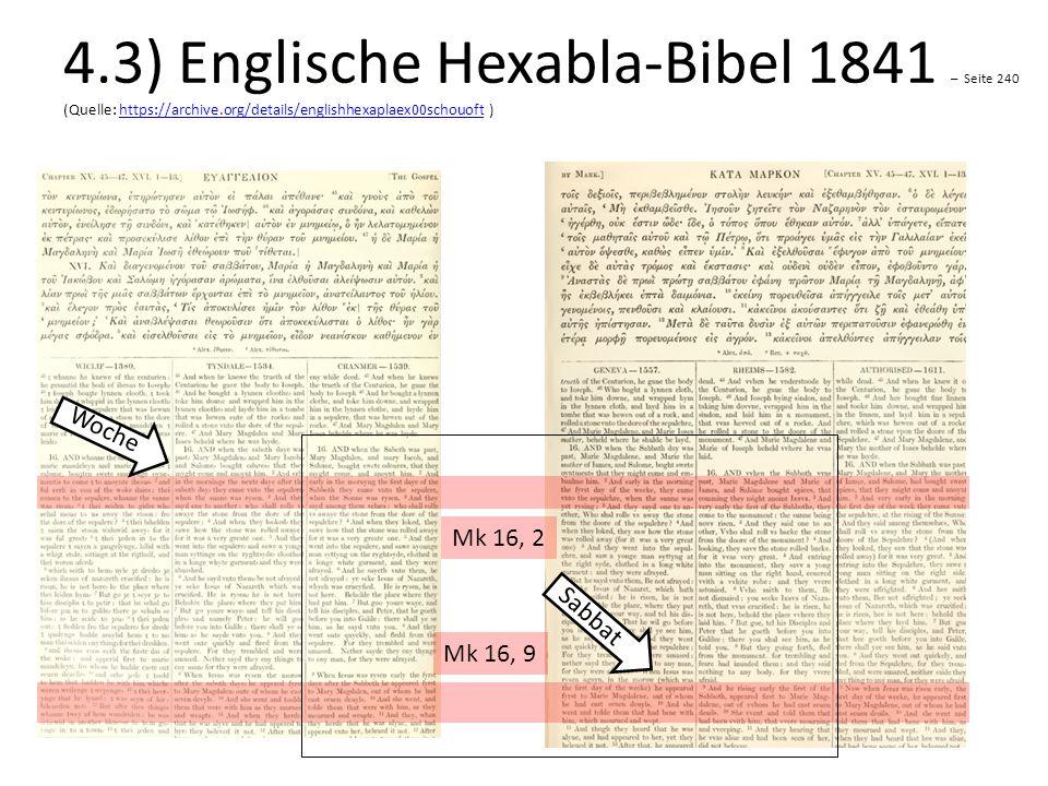 4.3) Englische Hexabla-Bibel 1841 – Seite 240 (Quelle: https://archive.org/details/englishhexaplaex00schouoft )