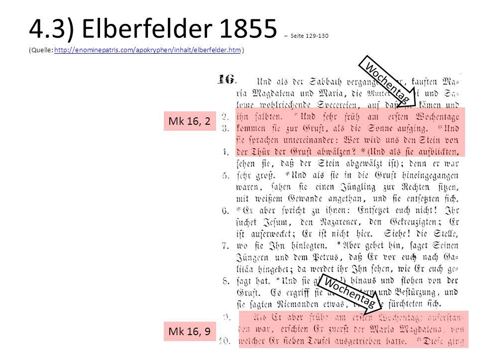 4. 3) Elberfelder 1855 – Seite 129-130 (Quelle: http://enominepatris
