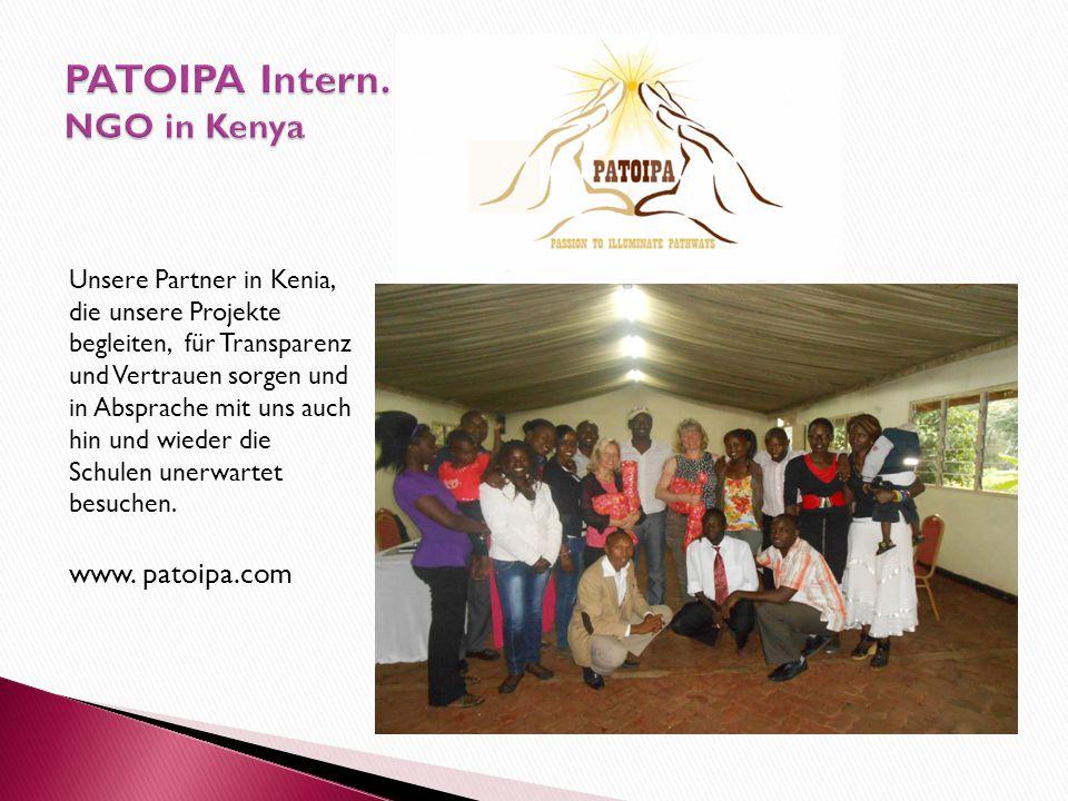 PATOIPA Intern. NGO in Kenya