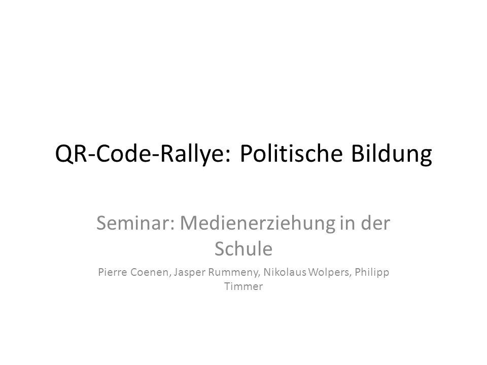 QR-Code-Rallye: Politische Bildung