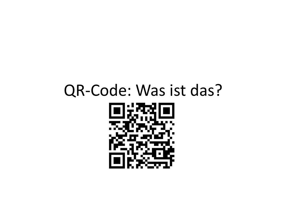 QR-Code: Was ist das