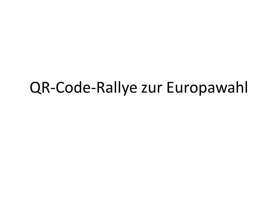 QR-Code-Rallye zur Europawahl