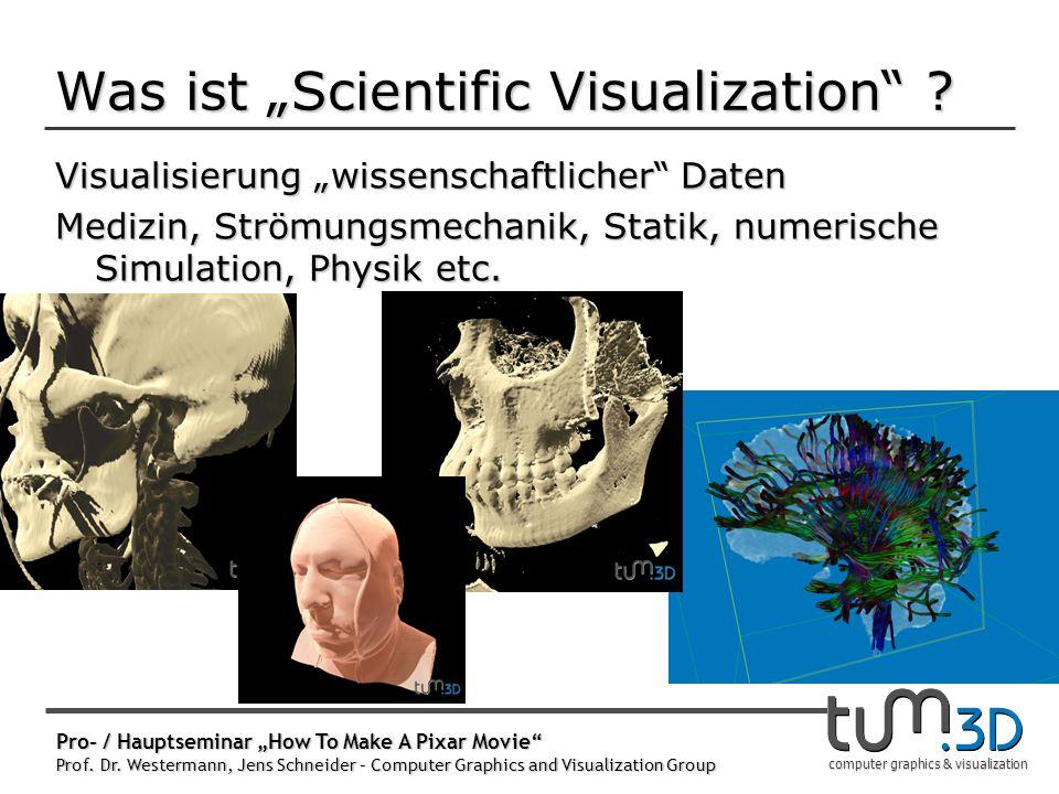 """Was ist """"SciVis auch Interdisziplinäre Wissenschaft"""