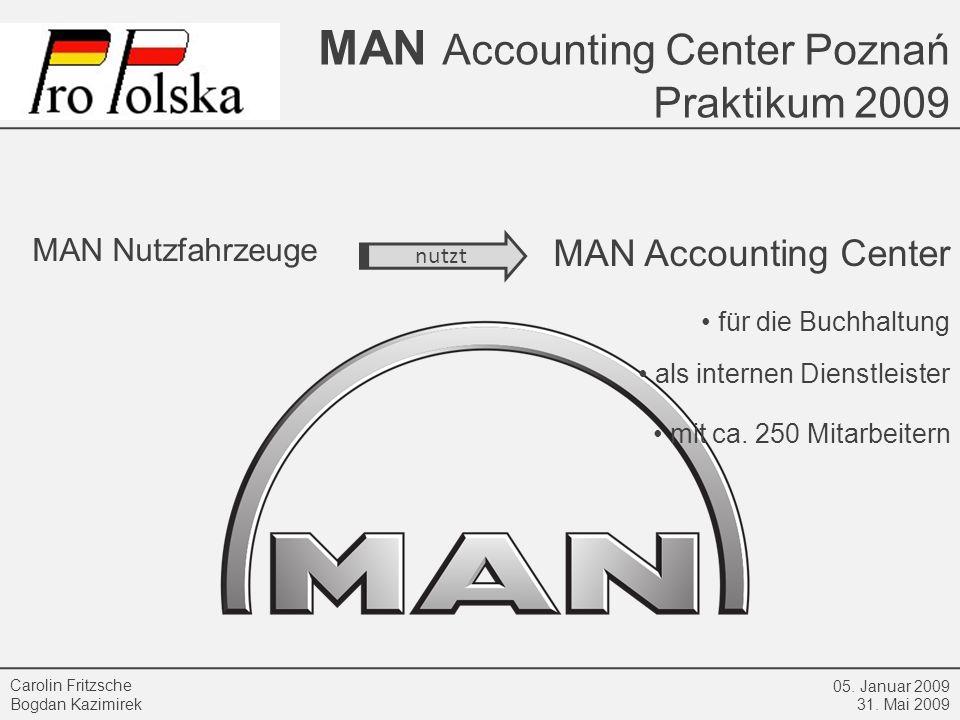 MAN Accounting Center MAN Nutzfahrzeuge • für die Buchhaltung