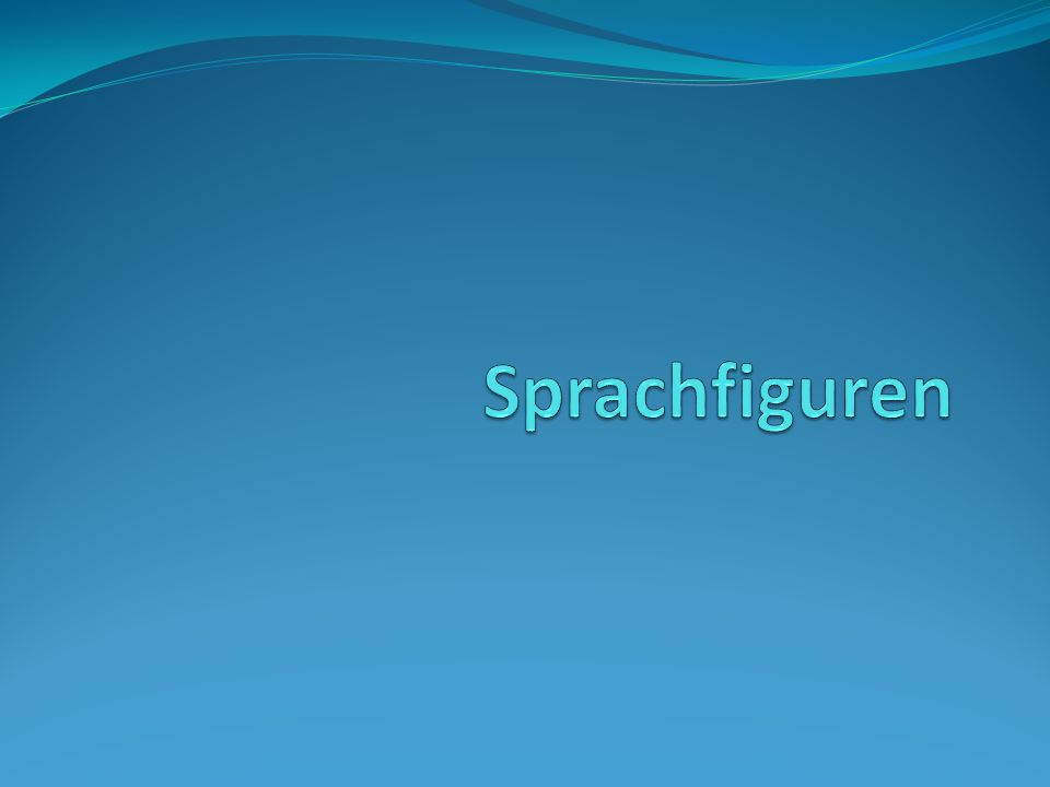 Sprachfiguren
