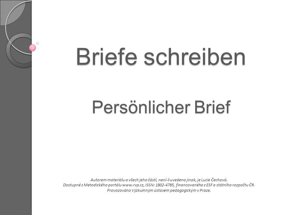 Bff Briefe Schreiben : Briefe schreiben persönlicher brief ppt herunterladen