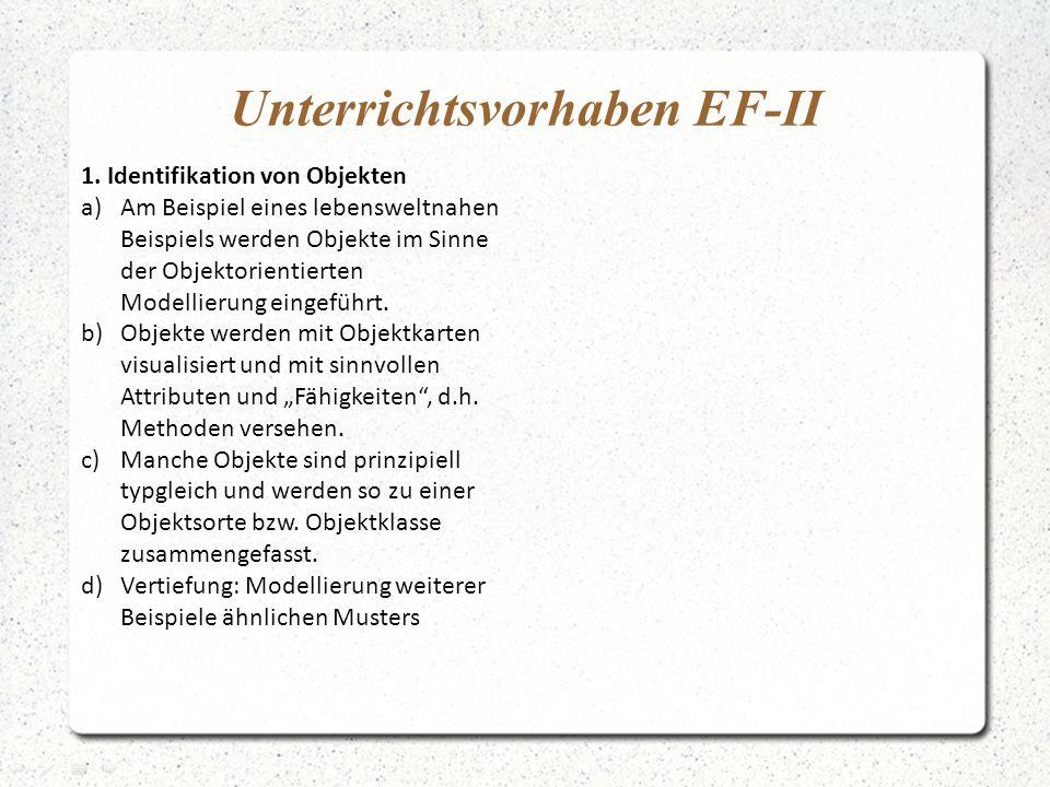 Unterrichtsvorhaben EF-II