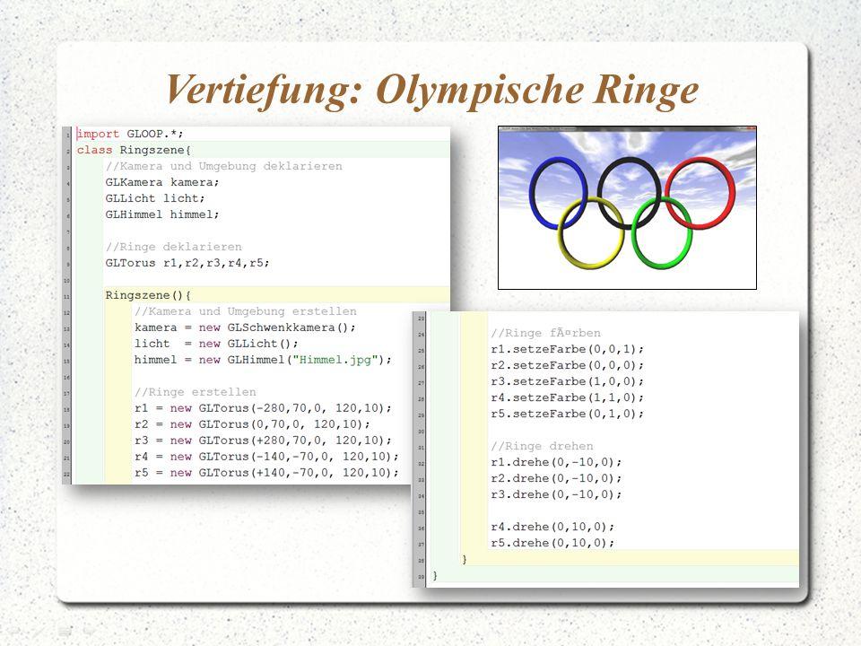 Vertiefung: Olympische Ringe
