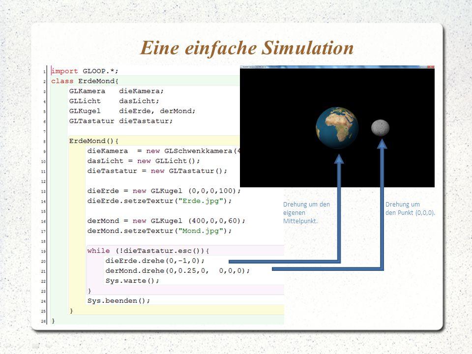 Eine einfache Simulation