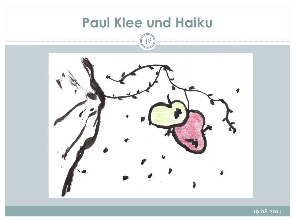Paul Klee und Haiku 05.04.2017
